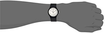 Casio Herren Armbanduhr Analog Quarz Schwarz Resin Mq-24-7B -