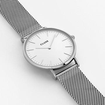 Cluse Unisex-Armbanduhr Analog Edelstahl - 3