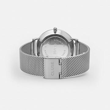Cluse Unisex-Armbanduhr Analog Edelstahl - 4