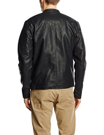 JACK & JONES Herren Jortano Jacket, Schwarz (Black Fit:Reg), Large -