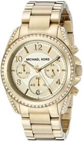 Micheal Kors Damen-Armbanduhr Analog Quarz Edelstahl MK5166 -