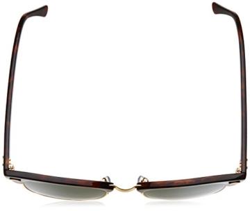 Ray-Ban Clubmaster Metallic RB 3016 Wayfarer Sonnenbrille, Brown (Braun RB 3016 W0366) -