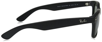Ray-Ban RB2132 New Wayfarer Sonnenbrille 52mm, Black (schwarz), 52 mm -