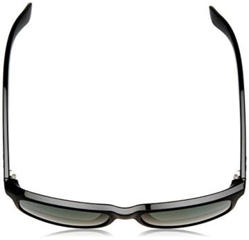 Ray Ban Unisex Sonnenbrille Andy, Gr. Large (Herstellergröße: 55), Schwarz (Gestell: Schwarz, Gläser: Grün Klassisch 606971) -