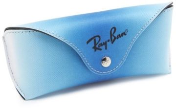 Ray Ban Unisex Sonnenbrille Chris, Gr. Medium (Herstellergröße: 54), Braun (Gestell: braun (Havana), Gläserfarbe: braun verlauf 856/13) -