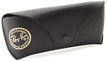 Ray Ban Unisex Sonnenbrille RB2140, Gr. Medium (Herstellergröße: 50), Schwarz (Gestell: schwarz, Gläser polarisierend 901) -