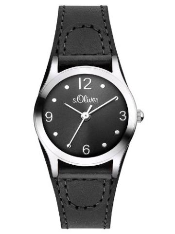 s.Oliver Damen-Armbanduhr XS Analog Quarz Leder SO-2623-LQ -