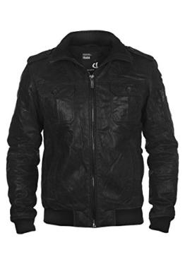 SOLID Fash Lederjacke, Größe:XL;Farbe:Black (9000) -