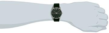 Calvin Klein Herren-Armbanduhr Analog Quarz Leder K4D211C1 -