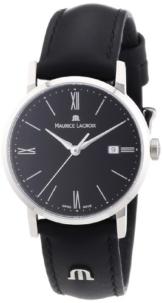 Maurice Lacroix Damen-Armbanduhr XS Eliros Analog Quarz Leder EL1084-SS001-310 -
